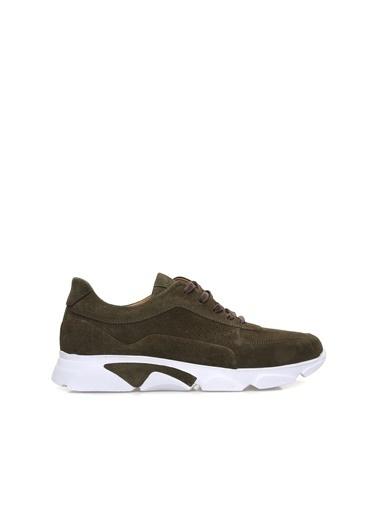 Divarese 5024375 Süet Erkek Sneaker Haki